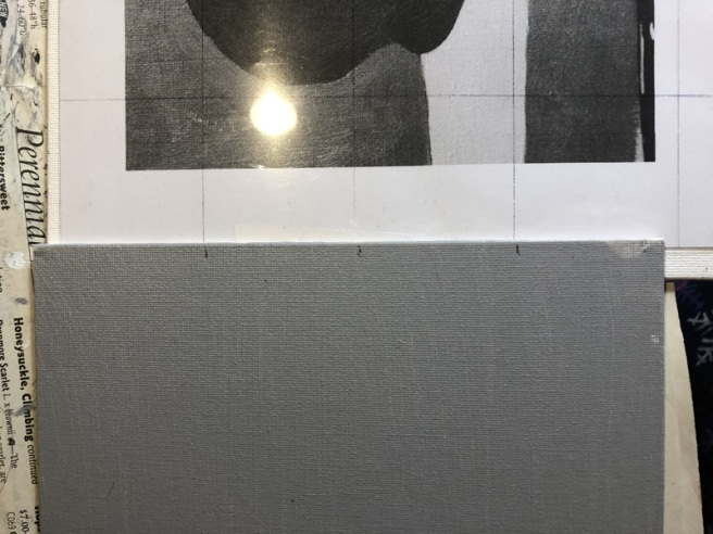 laying out a painting grid